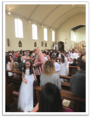 Holy communion 12th May 2018 (3rd group) 4