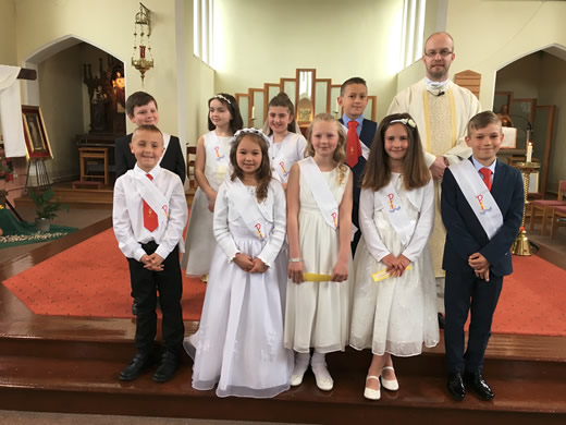 Holy communion 28th april 2018 (1st group) 1