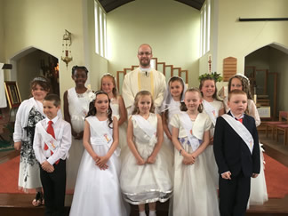 Holy communion 12th May 2018 (3rd group) 1