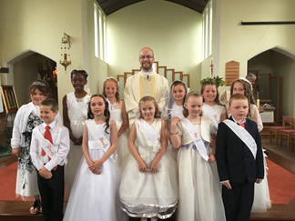 Holy communion 12th May 2018 (3rd group) 2