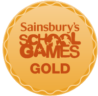 School Games Gold Metal Logo